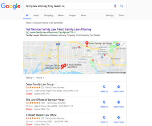 Law Firm SEO for Google Maps